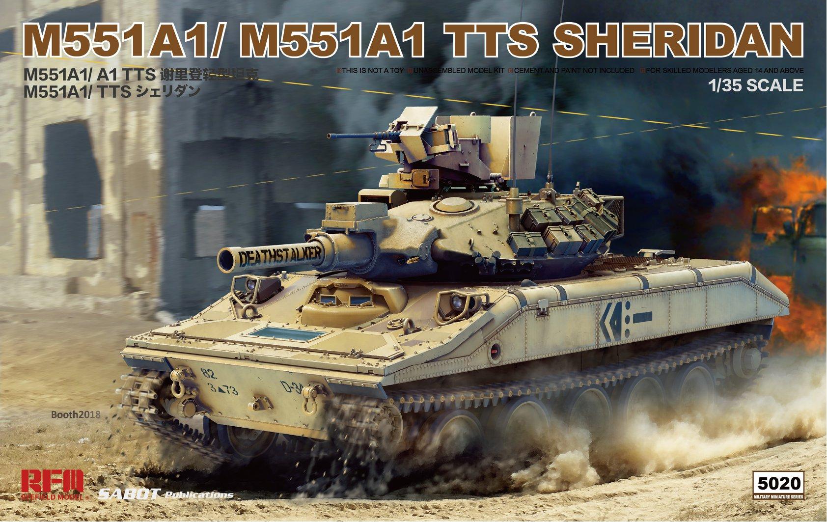 RM-5020 M551A1/ A1(TTS) SHERIDAN