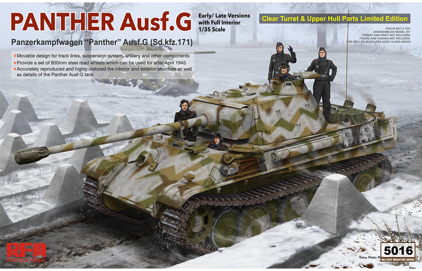 RM-5016 PANTHER Ausf.G