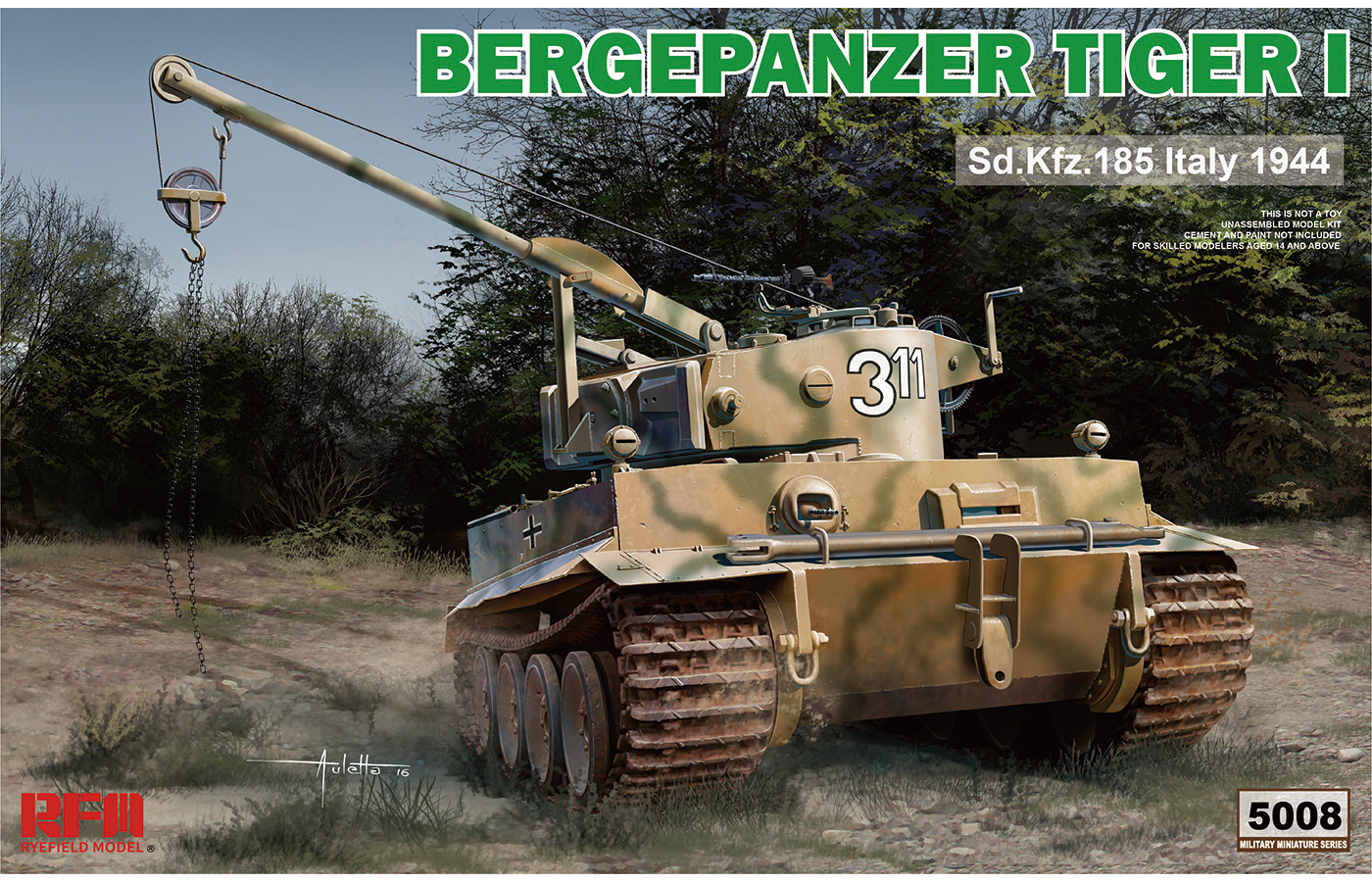 RM-5008 BERGEPANZER TIGER I