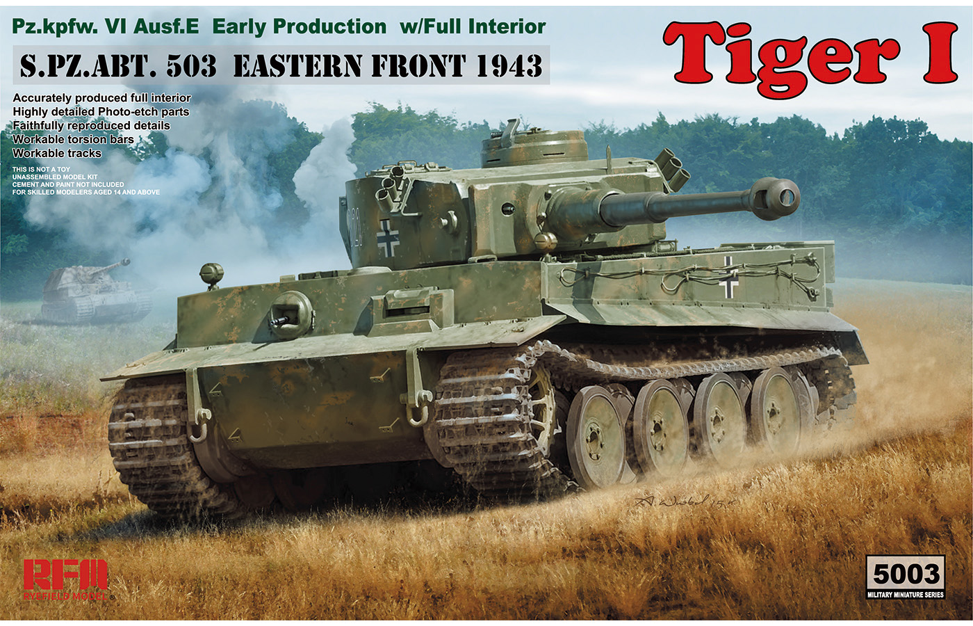 RM-5003 Tiger I Early Production With full interior
