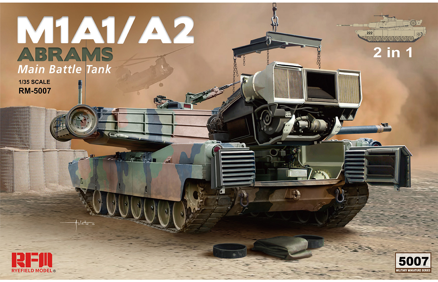 RM-5007 M1A1/A2  2in1