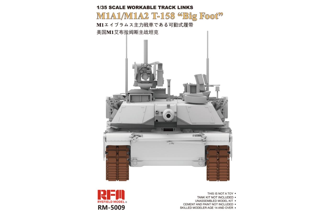 RM-5009 M1A1/M1A2 T-158