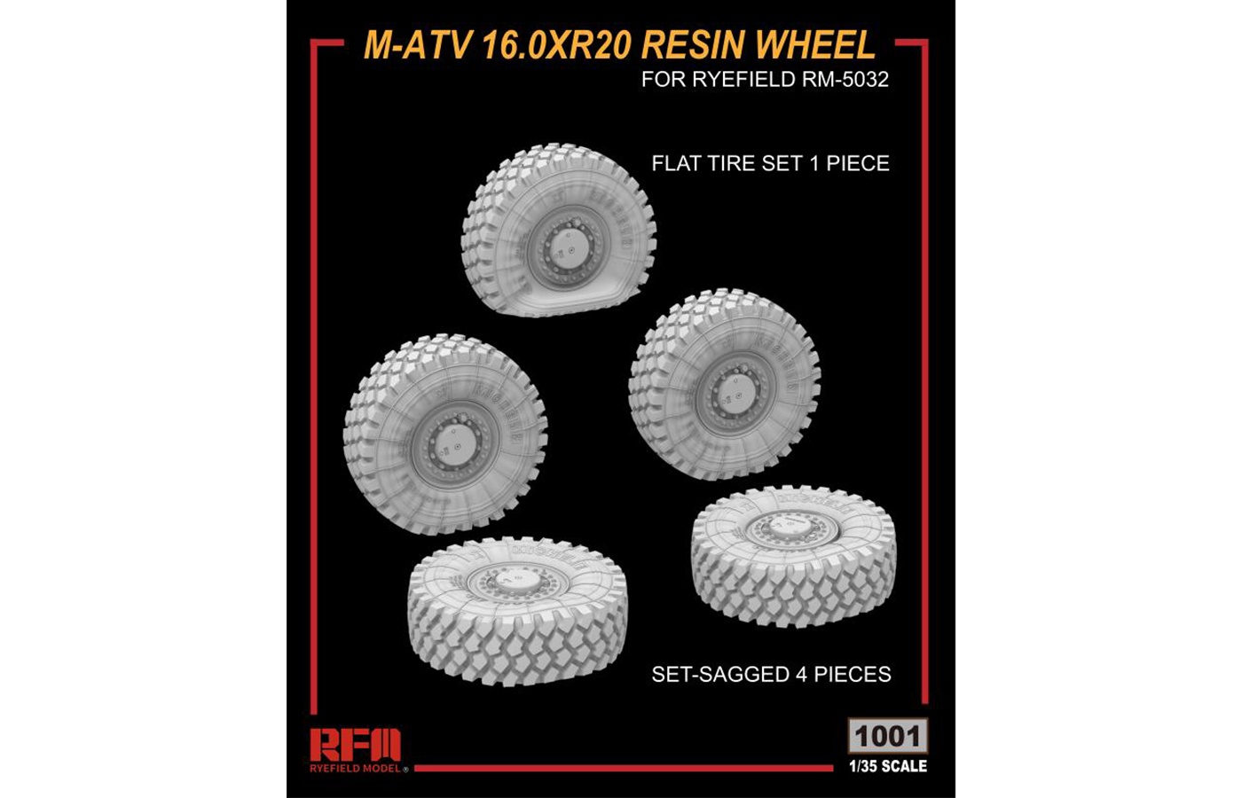 RM-1001 M-ATV 16.0 X R20 RESIN WHEEL