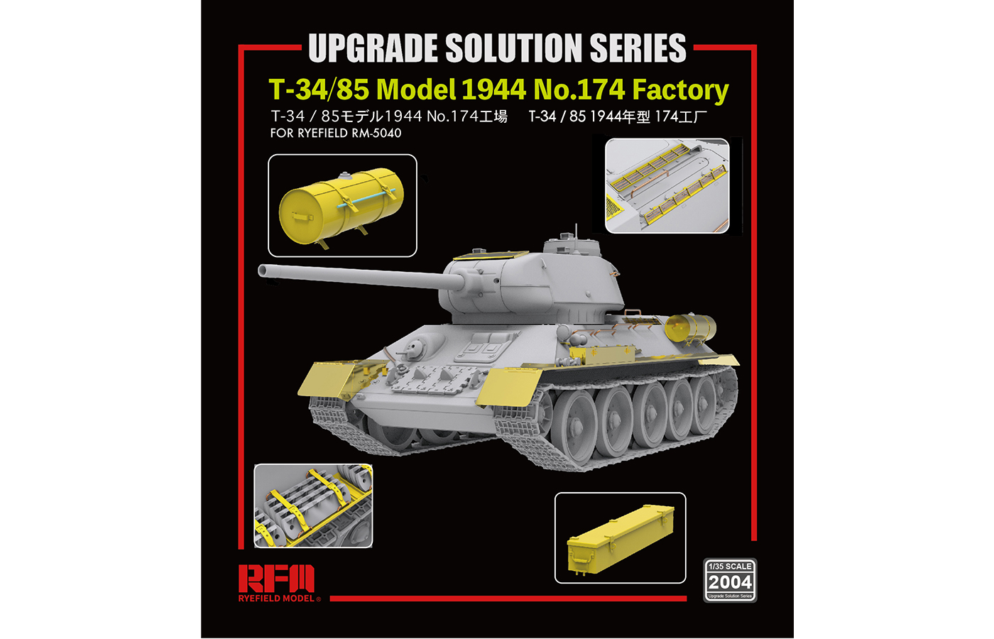 RM-2004 T-34/85 UPGRADE SOLUTION SERIES