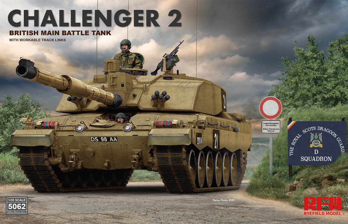 RM-5062 CHALLENGER 2 BRITISH MAIN BATTLE TANK