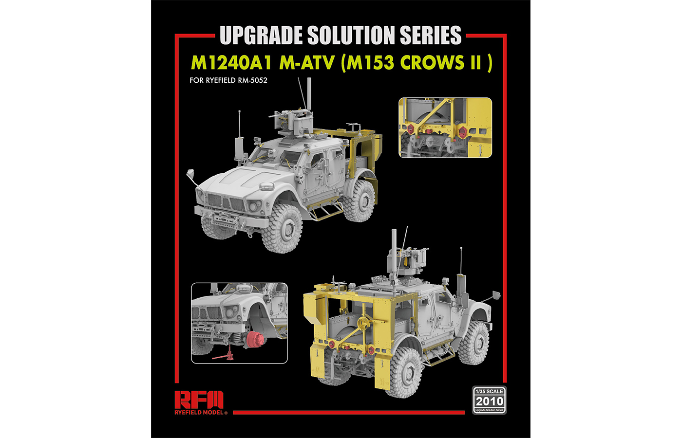RM-5052 M1240A1 M-ATV (M153 CROWS II)UPGRADE SOLUTION SERIES