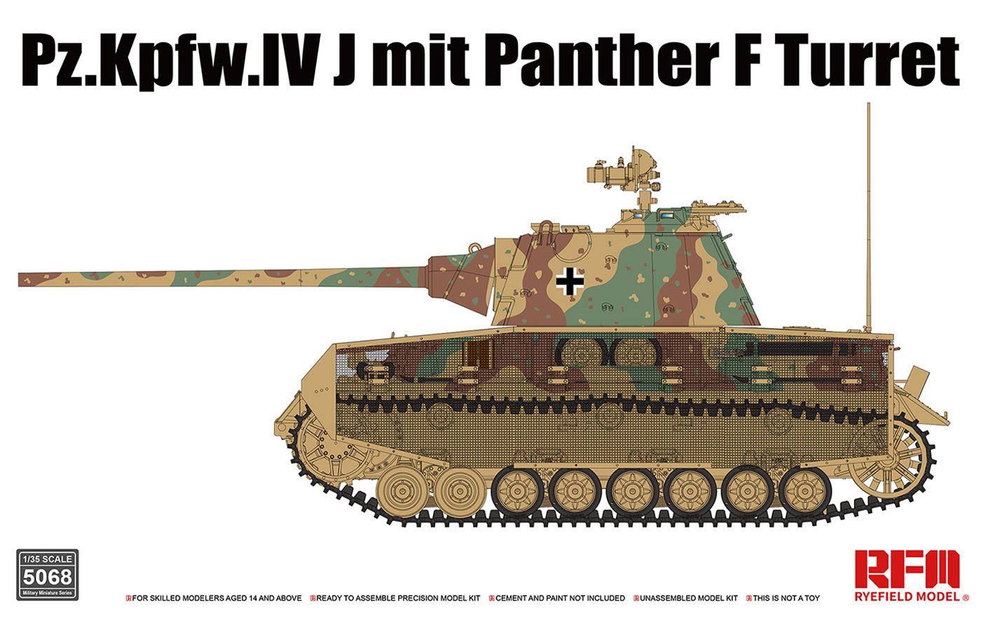 RM-5068  Pz.Kpfw.IV J mit Panther F Turret