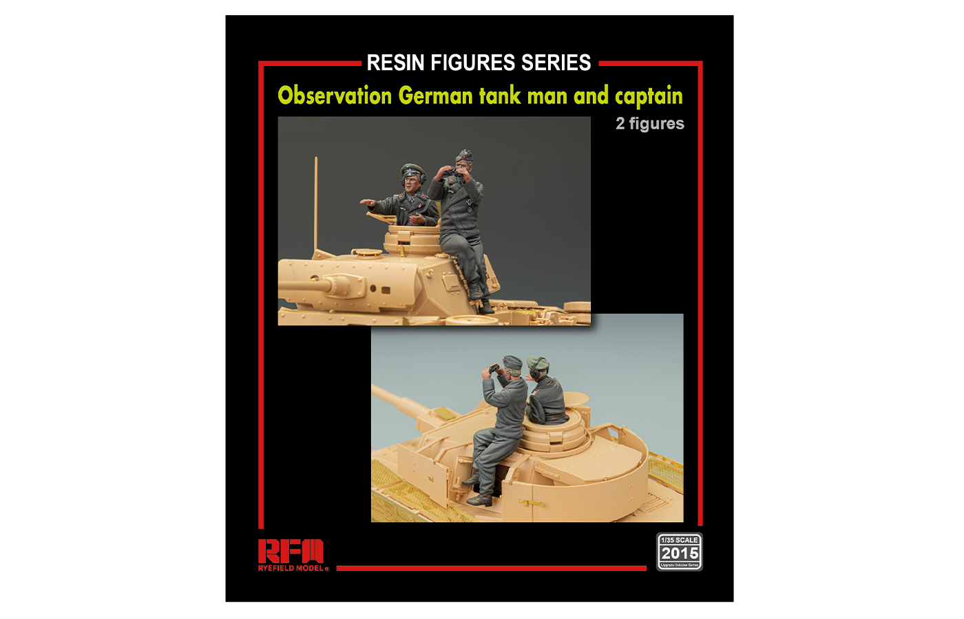RM-2015 Observation  German Tankman and captain