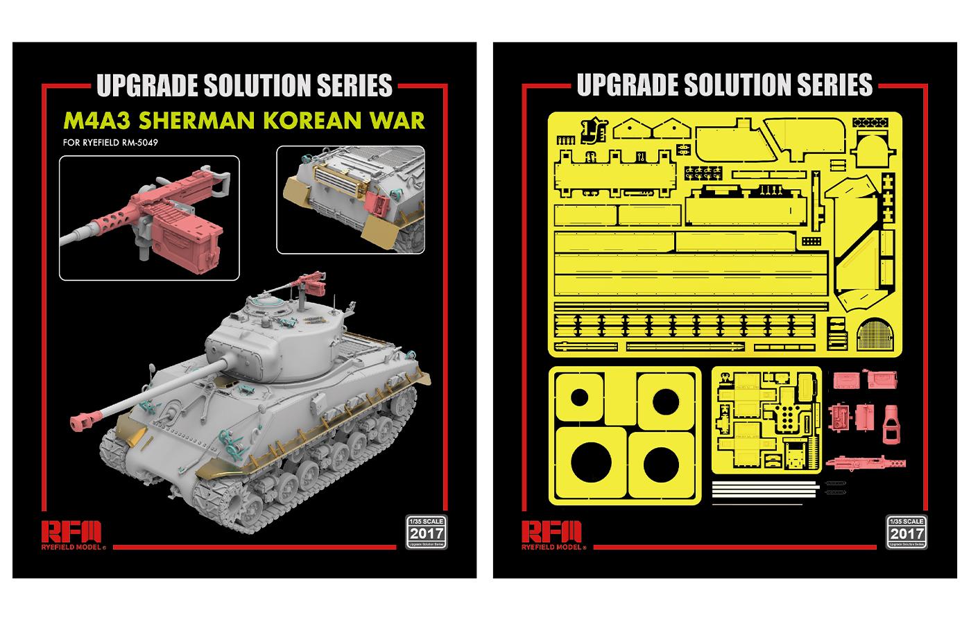 RM-2017 M4A3 SHERMAN KOREAN WAR