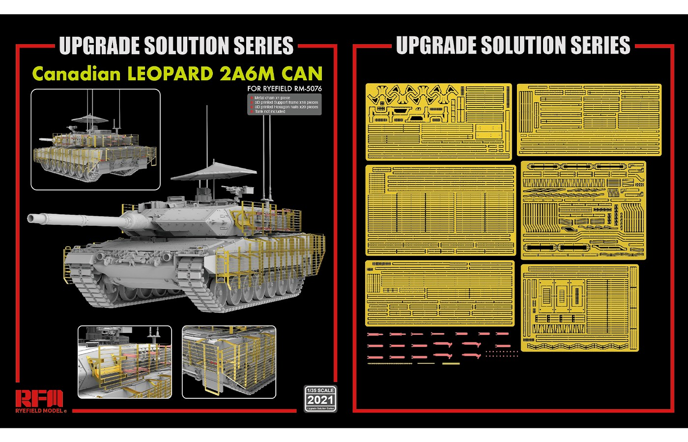 RM-2021 Canadian Leopard 2A6M CAN UPGRADE SOLUTION SERIES
